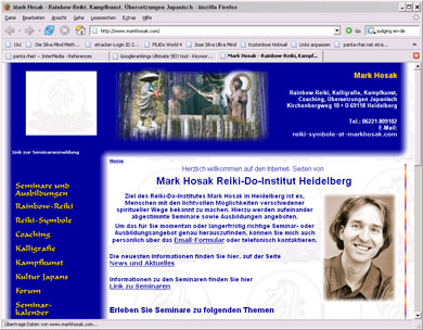 Mark Hosak Reiki-Do-Institut Heidelberg